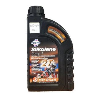 Picture of Fuchs Silkolene Comp 2 Suitable For Pre-Mix And Injector 2T Off Road