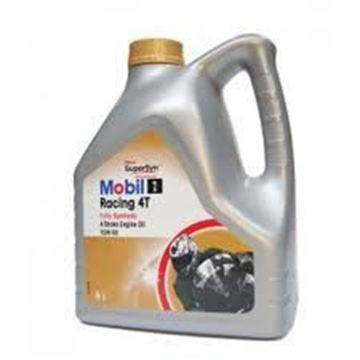 Picture of Mobile 1 Racing 4T, Fully Synthetic  4 Stroke Engine Oil 15W-50