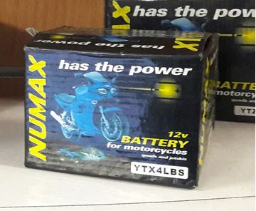 Picture of Numax Battery - YTX4LBS