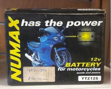 Picture of Numax Battery- YTZ12S