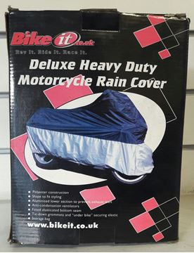 Picture of Deluxe Heavy Duty Motorcycle Raincover
